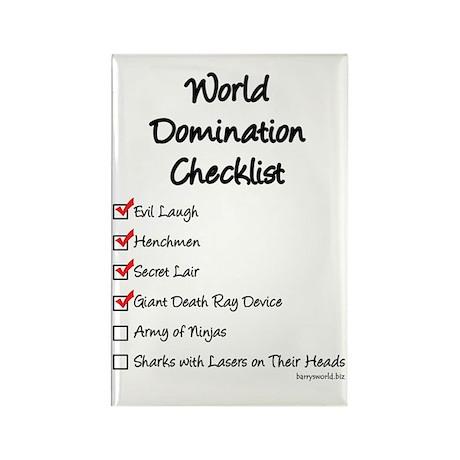 Domination Rectangle Magnet (100 pack)