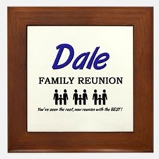 Dale Family Reunion Framed Tile