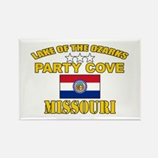 Ozarks Party Cove Rectangle Magnet