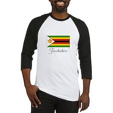 Zimbabwe - Flag Baseball Jersey
