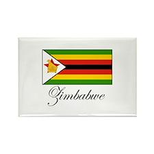 Zimbabwe - Flag Rectangle Magnet