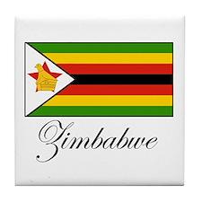 Zimbabwe - Flag Tile Coaster