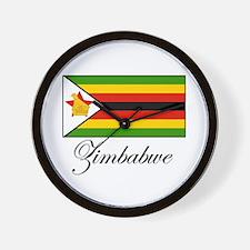 Zimbabwe - Flag Wall Clock