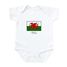 Wales - Flag Infant Bodysuit
