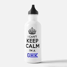 Cute Ghk Sports Water Bottle