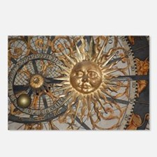 Astrological clockface Postcards (Package of 8)