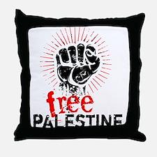 Free Palestine Throw Pillow