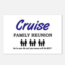 Cruise Family Reunion Postcards (Package of 8)