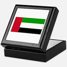 United Arab Emirates Flag Keepsake Box