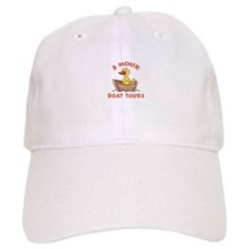 THREE HOUR BOAT TOURS Baseball Baseball Cap