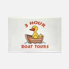 THREE HOUR BOAT TOURS Magnets