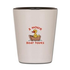 THREE HOUR BOAT TOURS Shot Glass
