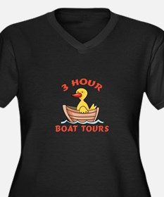 THREE HOUR BOAT TOURS Plus Size T-Shirt
