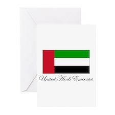 United Arab Emirates - Flag Greeting Cards (Packag