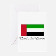 United Arab Emirates - Flag Greeting Cards (Packag
