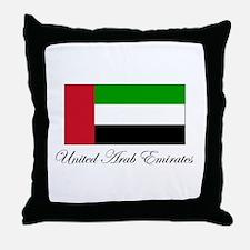 United Arab Emirates - Flag Throw Pillow