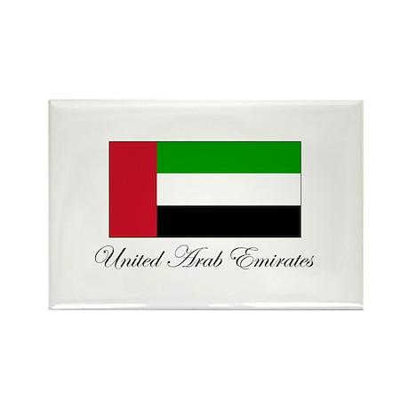 United Arab Emirates - Flag Rectangle Magnet