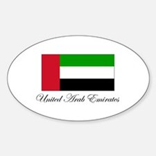 United Arab Emirates - Flag Oval Decal