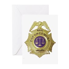 Bail Enforcement Greeting Cards (Pk of 10)