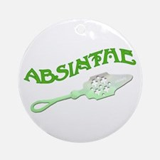 Absinthe Spoon Ornament (Round)