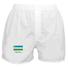 Uzbekistan - Flag Boxer Shorts