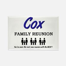 Cox Family Reunion Rectangle Magnet (10 pack)