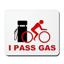Mousepad - I pass gas cyclist icon