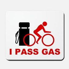 Mousepad - I pass gas cyclist icon