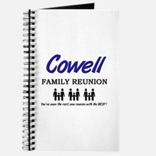Cowell Family Reunion Journal