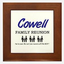 Cowell Family Reunion Framed Tile