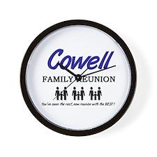 Cowell Family Reunion Wall Clock