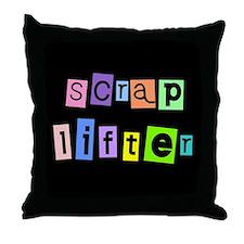 Anonymous Scraplifter Throw Pillow