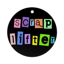 Anonymous Scraplifter Ornament (Round)