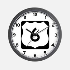 US Route 6 Wall Clock