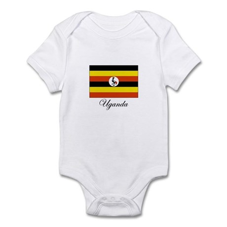 Uganda - Flag Infant Bodysuit