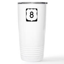 US Route 8 Travel Mug
