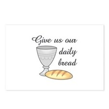 WINE DAILY BREAD Postcards (Package of 8)