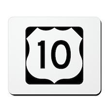 US Route 10 Mousepad
