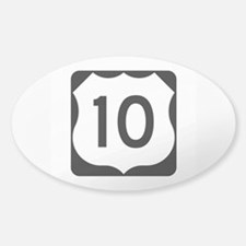 US Route 10 Decal