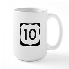 US Route 10 Mug
