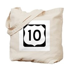 US Route 10 Tote Bag
