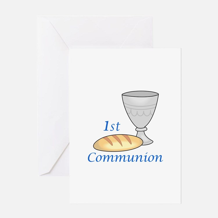 FIRST COMMUNION Greeting Cards
