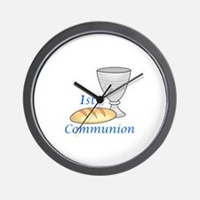 FIRST COMMUNION Wall Clock