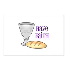 HAVE FAITH Postcards (Package of 8)