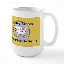 United States Licensed Zombie Hunter Mugs