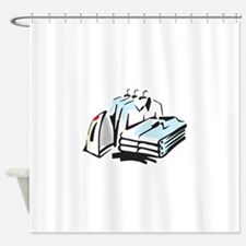 CLEAN LAUNDRY Shower Curtain
