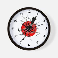 Squid Ninja Wall Clock