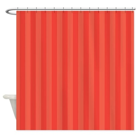 bright striped pattern shower curtain by mainstreethomewares