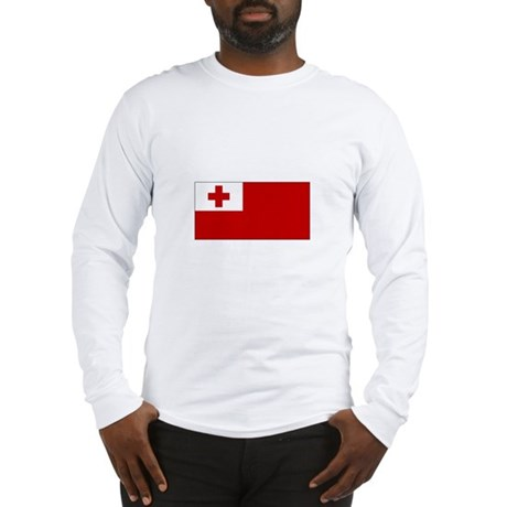 Tonga Flag Long Sleeve T-Shirt