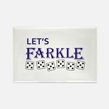 LETS FARKLE Magnets